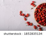 Fresh Rosehip Fruits Are On The ...