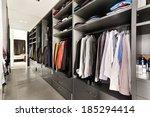 beautiful apartment  interior ... | Shutterstock . vector #185294414