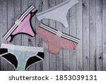 Women's Underwear Panties On A...
