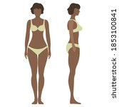 female anatomy human character  ...   Shutterstock .eps vector #1853100841
