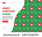 web landing page template for... | Shutterstock .eps vector #1853106094