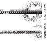 vector print textured tire...   Shutterstock .eps vector #1853216491