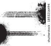 vector print textured tire...   Shutterstock .eps vector #1853216494