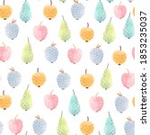 beautiful seamless pattern with ... | Shutterstock . vector #1853235037