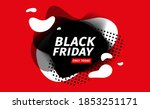 black friday sale banner.... | Shutterstock .eps vector #1853251171