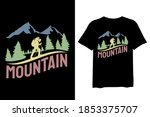 mountain  and forest outdoor... | Shutterstock .eps vector #1853375707