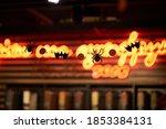 halloween decorations.... | Shutterstock . vector #1853384131