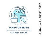 food for brain turquoise... | Shutterstock .eps vector #1853516017