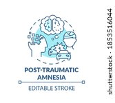 Post Traumatic Amnesia...