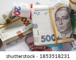 Background From Banknotes Of...