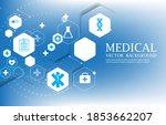 vector geometric hexagon...   Shutterstock .eps vector #1853662207