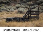 Closeup Of Montana Cattle Ranch ...