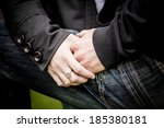 close up image of a young...   Shutterstock . vector #185380181