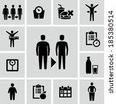 lose weight | Shutterstock .eps vector #185380514