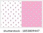 cute hand drawn romantic... | Shutterstock .eps vector #1853809447