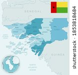 blue green detailed map of...   Shutterstock .eps vector #1853818684