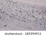damaged asphalt road  bad road   Shutterstock . vector #185394911