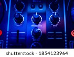 Audio Controlling Knobs On The...