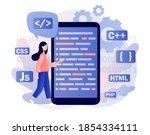 programming and engineering...   Shutterstock .eps vector #1854334111