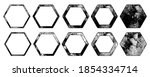eroded texture shapes. hexagons ...   Shutterstock .eps vector #1854334714