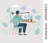 cartoon vector illustration of... | Shutterstock .eps vector #1854338227