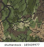 thorn camouflage seamless... | Shutterstock .eps vector #185439977
