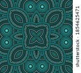 intricate victorian majolica...   Shutterstock .eps vector #1854625471
