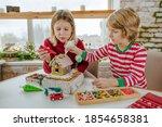 Children Decorated Christmas...