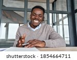 Cheerful African Business Man...