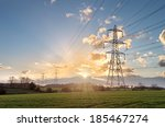 Electricity Pylon   Uk Standar...