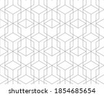 abstract geometric tile pattern.... | Shutterstock .eps vector #1854685654