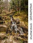 Mountain Stream Flows Through...