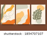 modern minimalist abstract... | Shutterstock .eps vector #1854707107