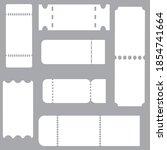 sticker design. advertising on... | Shutterstock .eps vector #1854741664