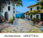Oil Painting On Canvas Of A...