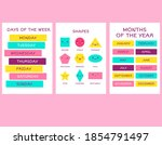 learn the names of the months...   Shutterstock .eps vector #1854791497