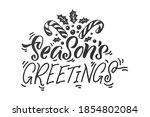 season's greetings. merry...   Shutterstock .eps vector #1854802084