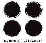 vector grunge round banners ...   Shutterstock .eps vector #1854829357