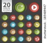 set of 20 circular modern...