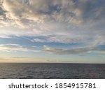 Seascape Photo With  Sea And...