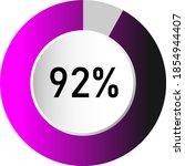 92  circle percentage diagrams  ...