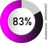 83  circle percentage diagrams  ...