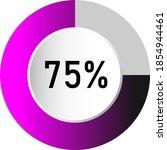 75  circle percentage diagrams  ...