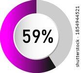 59  circle percentage diagrams  ...