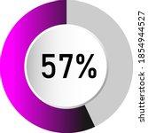 57  circle percentage diagrams  ...