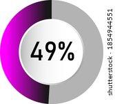 49  circle percentage diagrams  ...