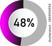 48  circle percentage diagrams  ...