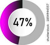 47  circle percentage diagrams  ...