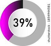 39  circle percentage diagrams  ...