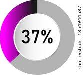 37  circle percentage diagrams  ...